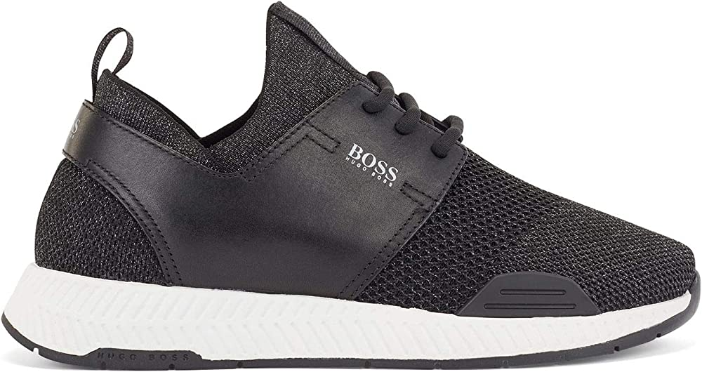 Hugo boss, titanium_runn_lurex, scarpe da ginnastica donna,snikers 50447460