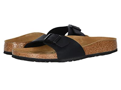 Birkenstock Madrid Slip-On (Black Birko-Flor) Women