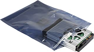 Supershield Antistatic Shielding ESD Bag, Premium Static Shield Bag, Anti Static, Reusable, IC3700-628-ZB-8X10IN, Zip Loc...