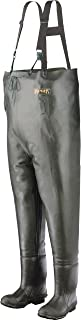Ranger Bluecat Heavy-Duty Men's All-Rubber Insulated Chest Waders, Forest Green (A2070)