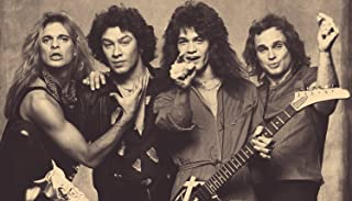 TST INNOPRINT CO Van Halen Classic Rock Star Band Poster 24x42
