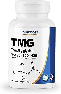 Nutricost TMG 750mg, 120 Capsules