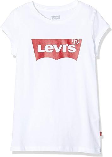 Levi's Kids Lvg SS Batwing Tee T-Shirt Fille