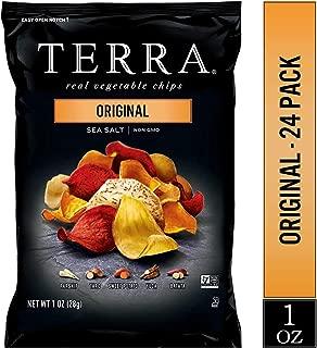 TERRA Original Chips with Sea Salt, 1 oz. (Pack of 24)