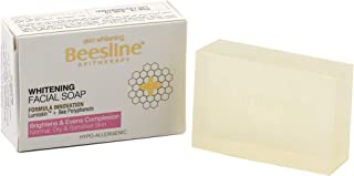 Beesline Whitening Facial Soap, White, 85 gm