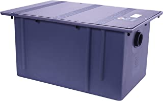 Zurn GT2702-20 Polyethylene Grease Trap 20 Gallons Per Minute 40 Pounds Capacity Grease Interceptor, Grease Interceptor