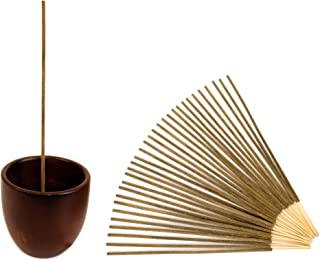 Natural Choice Cup Style Incense Holder (Walnut)
