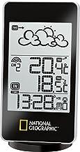 Bresser National Geographic Weerstation Basic met weertrendweergave van de volgende 12 uur, binnen- en buitentemperatuur, ...