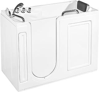 "Empava EMPV-WIT373 52.5"" Acrylic Freestanding Walk-in Bathtub"