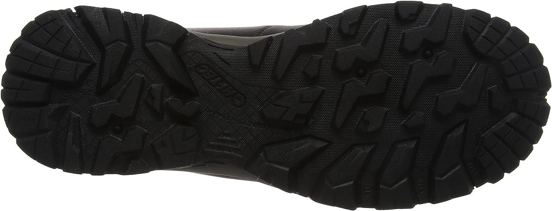 HI-TEC Eurotrek Lite WP, Chaussures de Randonnée Hautes Homme Marron Dark Chocolate