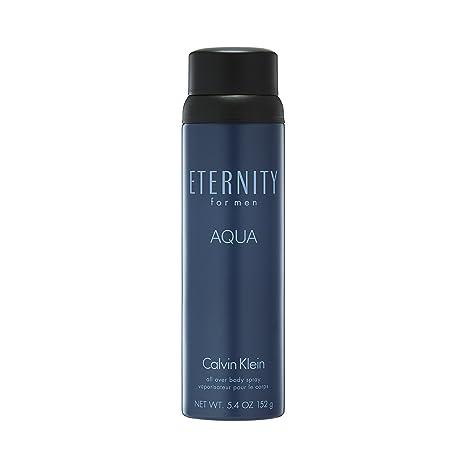 Calvin Klein Eternity For Men Aqua Eau De Toilette 5 4 Fl Oz Body Spray Premium Beauty
