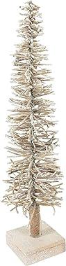 Villa d'Este Home Tivoli 5904542 Sapin de Noël de 50 cm avec 20 LED, Or, Misure p. 10 x h