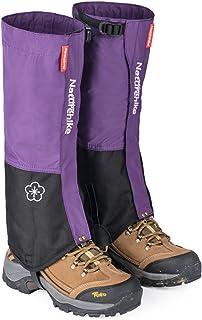 Naturehike al aire libre montaña nieve Legging polainas, impermeable y a prueba de viento zapatos cubierta, para senderismo, esquí, senderismo, escalada, caza