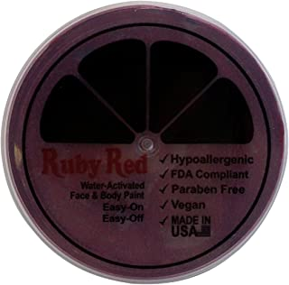 Ruby Red Paint Face Paint, 75ML - Burgundy