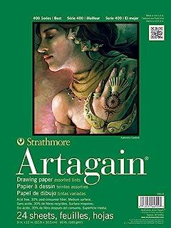 "Strathmore Paper 400 Series Artagain Pad, 9""x12"", Assorted"