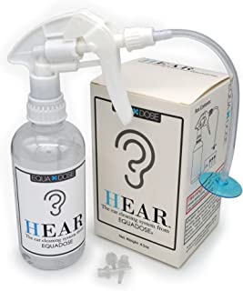 Hear Earwax Remover from Equadose. Top Quality Ear Wax Removal Kit for Ear Cleaning and Irrigation.
