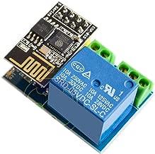 DEVMO ESP8266 ESP-01S Wireless WiFi Transceiver Relay Module for Arduino Smart Home Remote Control Unlock Set