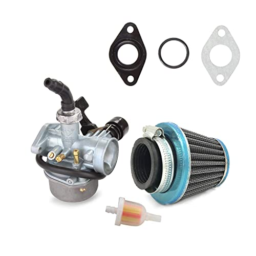 atv carburetor pz19 with fuel filter and 35mm air filter for 50cc 70cc 80cc  90cc 110cc