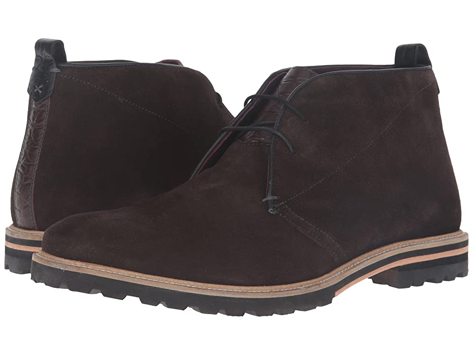 Ted Baker Maagna (Brown Suede) Men
