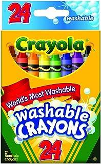 Crayola Washable Crayons 24/Pkg 52-6924 (3-Pack)
