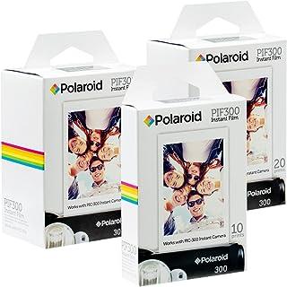 Película Instantánea Polaroid PIF300: diseñada para usar con cámaras Fujifilm Instax Mini y PIC 300 (50 hojas)