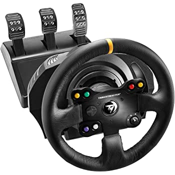 ThrustMaster TX Racing Wheel LEATHER EDITION compatible PC/Xbox One 4460133 Noir