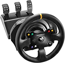 Thrustmaster TX RACING WHEEL LEATHER EDITION - Volante - XboxOne / PC -Force Feedback - 3 pedales - Licencia Oficial Xbox