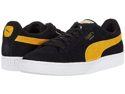 PUMA Suede Classic (Puma Black/Golden Rod) Shoes