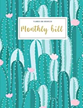 Monthly Bill Planner And Organizer: monthly budget planner cactus | 3 Year Calendar 2020-2022 Budget Planner | Weekly Expe...