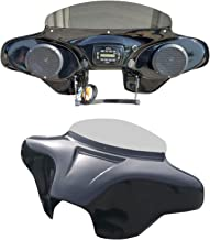 Batwing Fairing for HD Road King with Stereo Speakers PRV250 and 2x6.5