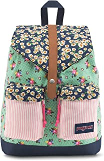Jansport Fashion Backpack for Women- Green