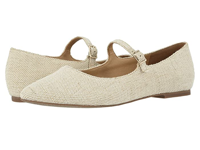 Retro Vintage Flats and Low Heel Shoes Trotters Hester Natural Womens Shoes $56.77 AT vintagedancer.com
