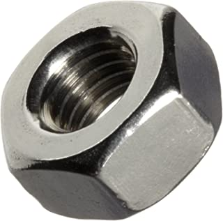 Pack of 10 400 Nickel-Copper Alloy Hex Nut 5//16-18 Thread Size 1//2 Width Across Flats 17//64 Thick 17//64 Thick Small Parts B009EEMGSM Plain Finish 1//2 Width Across Flats ASME B18.2.2 5//16-18 Thread Size Pack of 10