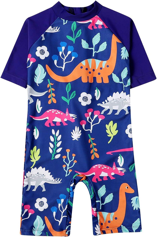 Qpap Toddler Kids Baby Free Shipping Cheap Bargain Gift Boy Guard Cartoon Dinosaur Swimsuit Rash Max 79% OFF