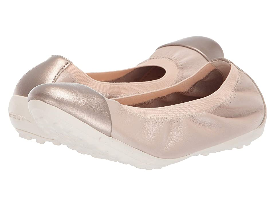 Geox Kids Piuma Girl 70 (Little Kid/Big Kid) (Beige) Girl