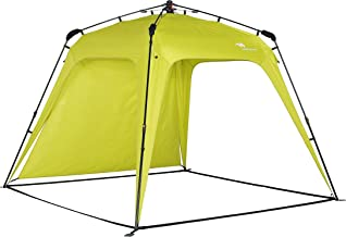 Mobihome Canopy Instant Shade Tent 8.2' X 8.2' - Portable Pop Up Beach & Sports Sun Cabana Shelter Umbrella, Easy Set-up and Take Down, with Sun Protection and One Shade Wall Included