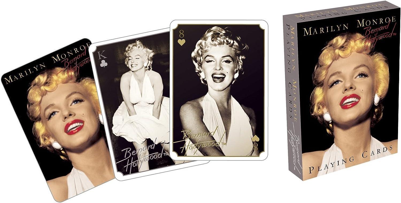 Aquarius Marilyn Monroe Playing Cards