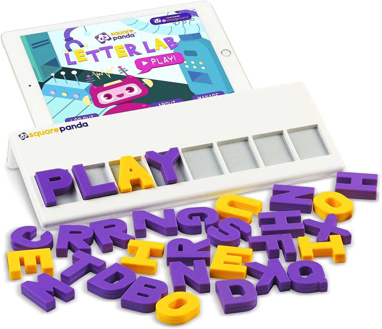 Square Panda Multisensory Phonics San Antonio Mall Playset R Learning San Jose Mall for to Kids