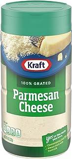 Kraft 100% Grated Parmesan Cheese Shaker (8 oz Bottle)
