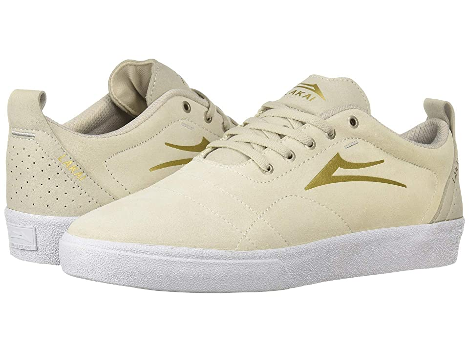Lakai Bristol (White/Gold) Men