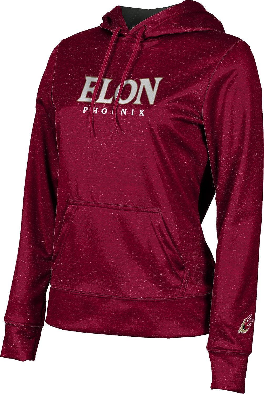 ProSphere Elon University Girls' Pullover Hoodie, School Spirit Sweatshirt (Heathered)