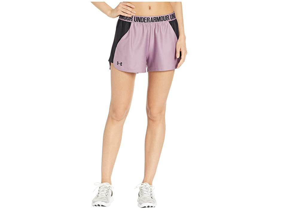 Under Armour New Play Up Shorts (Purple Prime/Black/Black) Women's Shorts