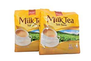 SUPER Milk Tea Original 2 Packs (Total 50 sticks)