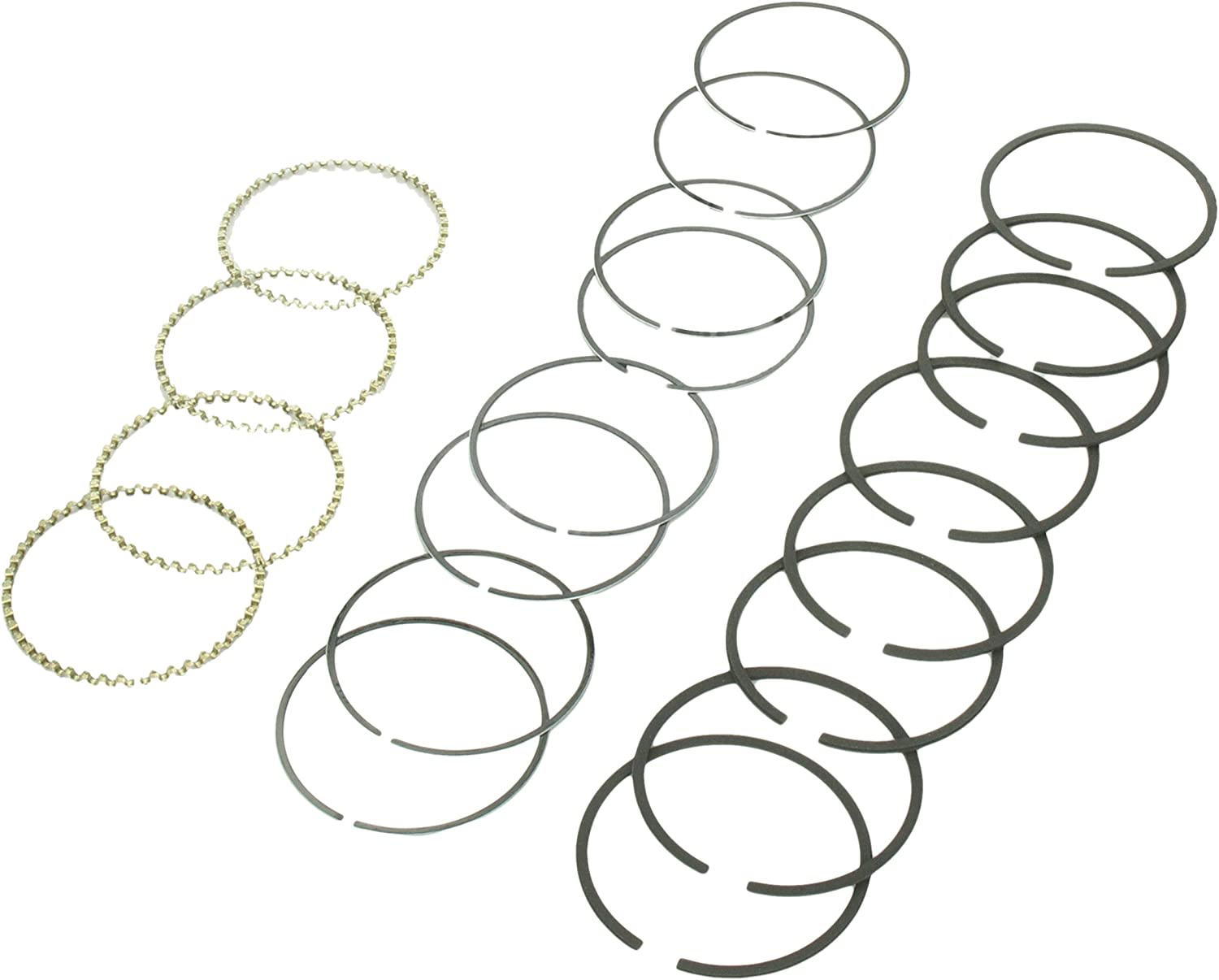 Milwaukee Mall Hastings 6872 4-Cylinder Set Piston Max 66% OFF Ring