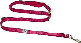 Canine Equipment Technika Beyond Control Dog Leash, 3/4-Inch Width, Raspberry