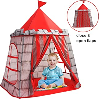 Yoobe Prince Castle Play Tent , Your Kids Will Enjoy This Foldable Pop Up Play Tent/House Toy for Indoor & Outdoor