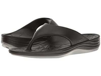 Aetrex Lynco Flip (Black) Men