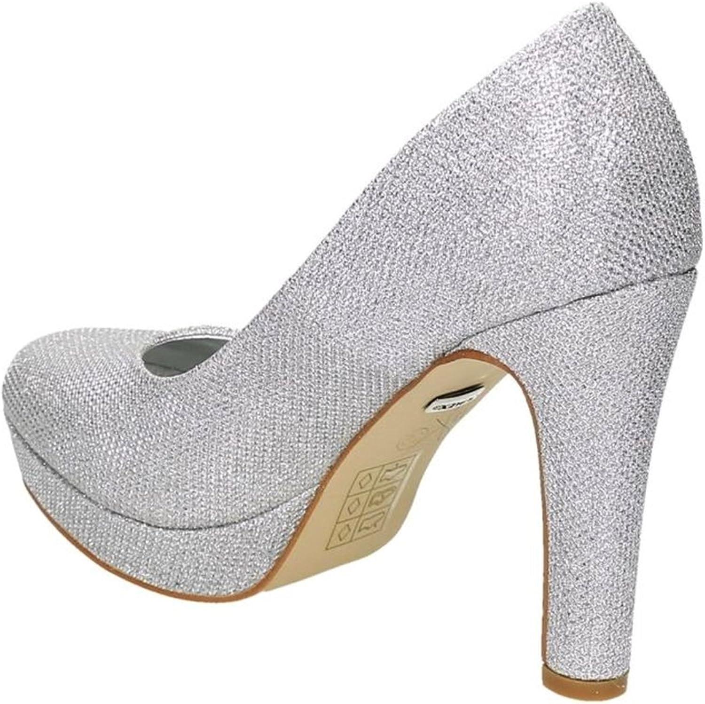 scarpe da sera brillanti Scarpe da donna con tacco alto e plateau