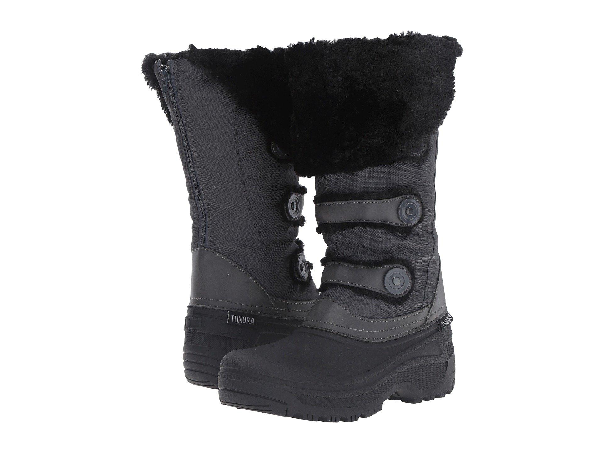 Tundra Boots Ella (Black/Charcoal) Women's Boots