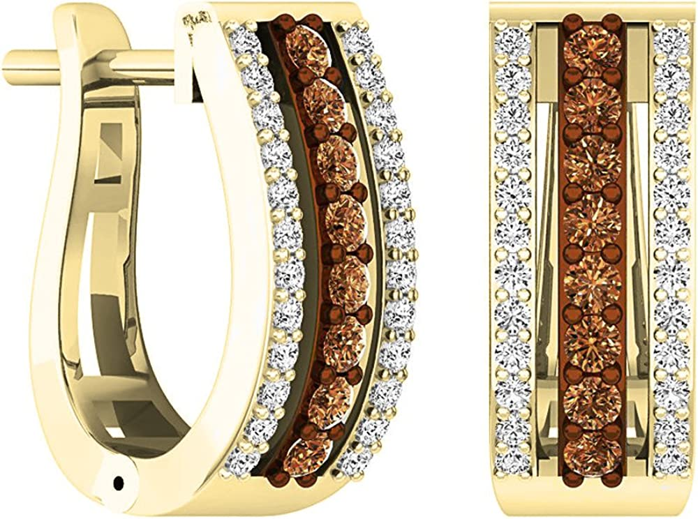 Price reduction Dazzlingrock Collection Fashionable 0.45 Carat ctw Gold 14K Round Champagn